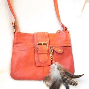 Aldo Coral crossbody bag with Feather accent
